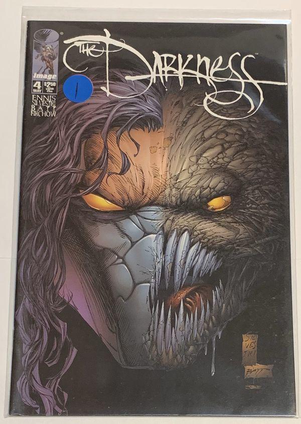 Darkness 4 Image Comics Garth Ennis