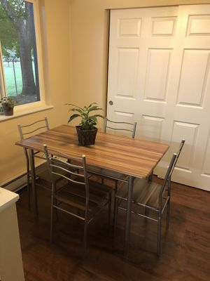 Table and four chairs for Sale in Renton, WA