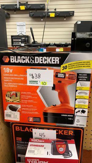 Black & Decker cordless drill for Sale in Chicago, IL
