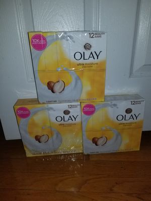 3 pack olay 12 bar soap for Sale in Lanham, MD