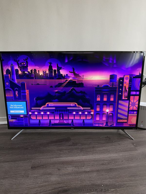 TCL 4K HDR Smart Roku TV 50 in