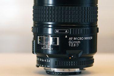 Nikon AF Micro Nikkor 60mm 1:2.8D for Sale in Scottsdale,  AZ