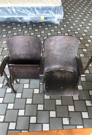 Antique Theater seats (1940s) for Sale in Cleveland, OH