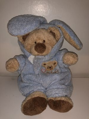 Baby first Easter Teddy Bear Easter Bunny plush plushie doll. TY vintage 2004! Sells for $80 on amazon ! for Sale in Phoenix, AZ