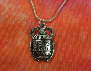 """Egyptian Scarab Beetle Necklace, Egypt Amulet Talisman Charm Pendant Gift 16-36"""" for Sale in Orland Hills, IL"""