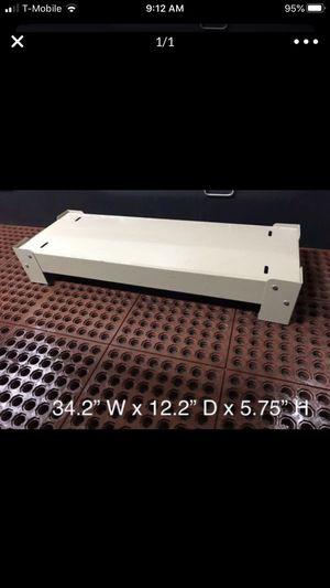 Metal steel base platform for your cabinet shelf shelving mail slot sorter industry organizer pedestal for Sale in SeaTac, WA