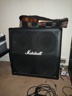 """Marshall 4 × 12"""" speaker cab with MG 100 fx head (not working. Wiring issue i do not have tools to fix. Rest assured it CAN easily be fixed) for Sale in Washington, DC"""
