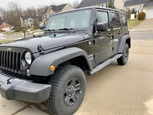 2015 Jeep Wrangler Unlimited Sport for Sale in Brecksville, OH