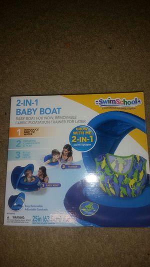 Swim School 2 in 1 inflatable baby boat for Sale in San Antonio, TX