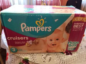 Brand new Pampers size 3 box. for Sale in Chicago, IL