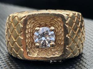 Men's Gold/Diamond Ring for Sale in La Verne, CA
