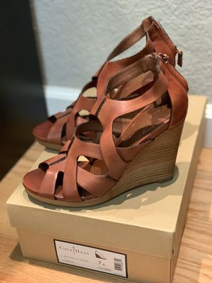 Cole Haan Air Kimry Open Toe Strappy Wedge Sandal Size 7 for Sale in San Diego, CA