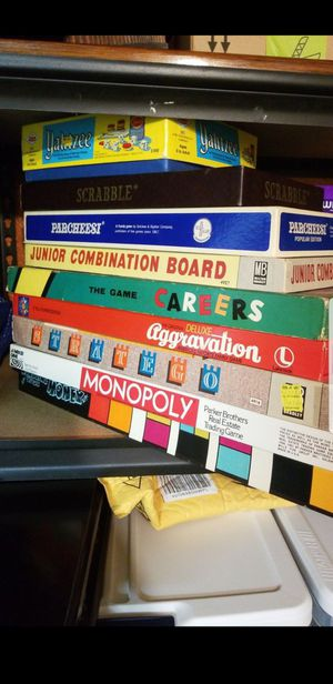 9 Vintage collectible board games for Sale in Alexandria, VA