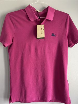 Burberry men's pink polo small for Sale in Schaumburg, IL