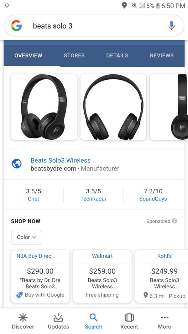 Solo beats 3 wireless
