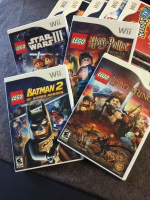 Wii Lego Games for Sale in Los Angeles, CA