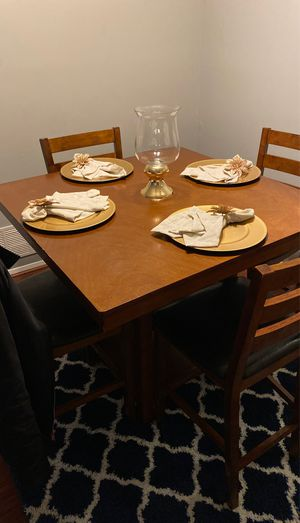 Pub style dining room table for chairs for Sale in Glen Burnie, MD