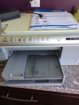 HP All in one printer (wired or wireless) for Sale in Springfield, IL