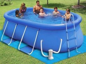 Backyard Ocean Inflatable Pool for Sale in Irvine, CA