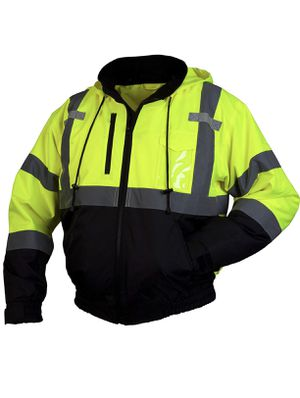 Brand new fleece bomber safety jacket XL for Sale in Bakersfield, CA