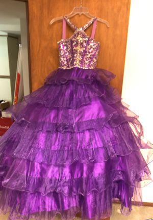 Mac Duggal Pageant dress, girls size 10. for Sale in Seattle, WA