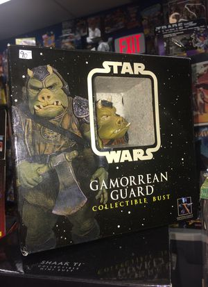 Star Wars Gamorrean Guard bust New in package by gentle giant $75 for Sale in Roselle, IL