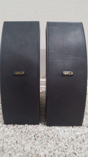 KLH C-180B *MINT* INDOOR / OUTDOOR WEATHER 170-WATT SPEAKERS for Sale in Bothell, WA