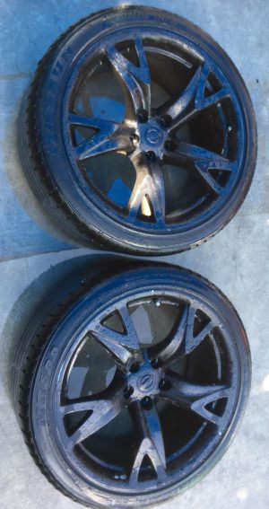 "NISSAN 370Z 19"" OEM WHEELS RIMS WITH TIRES (SET OF 2) for Sale in Fort Lauderdale, FL"