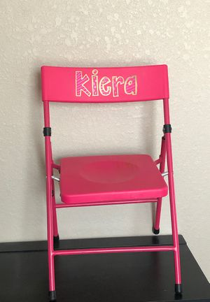 Little kid fold out chair for Sale in Tomball, TX