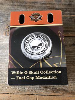 "Harley Davidson ""Willie G "" gas cap medallion for Sale in Waco,  TX"