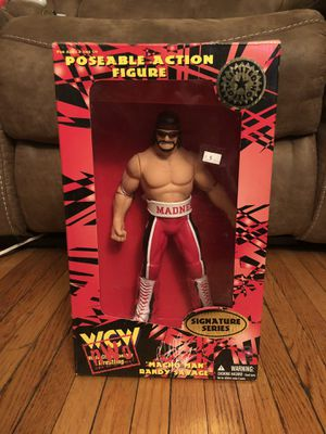 "WCW Limited Edition KB Toys Action Figure ""Macho Man"" Signature Series for Sale in Greece, NY"