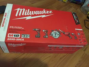 Milwaukee 5 tool for Sale in Raleigh, NC