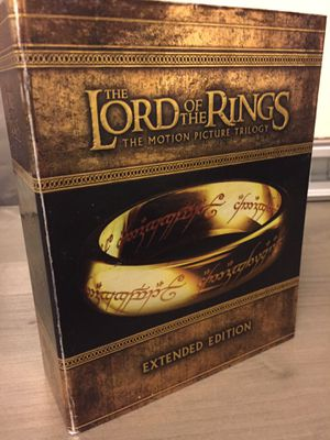 Lord of the Rings Extended Version Trilogy Set for Sale in Seattle, WA