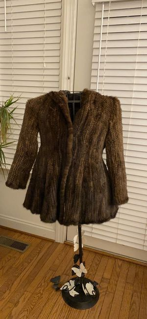 Knitted Mink Coat for Sale in Fairfax, VA