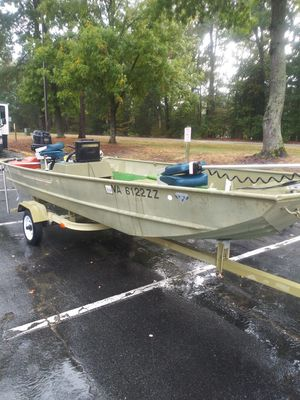 1989 lowe 16 foot for Sale in Doswell, VA