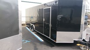 ENCLOSED VNOSE ALUMINUM TRAILERS IN STOCK MANY SIZES for Sale in Sudbury, MA