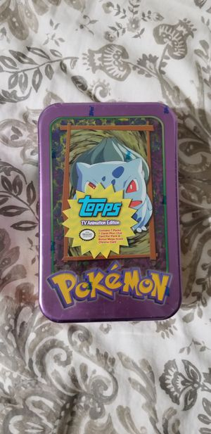 Topps TV animation Edition tin 2000 for Sale in Escondido, CA