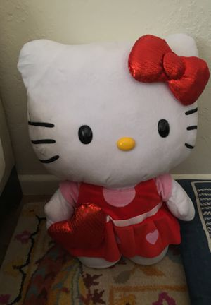 Giant hello kitty plushie for Sale in Tempe, AZ