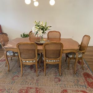 Thomasville 1966 Dining Table And 6 Chairs for Sale in Phoenix, AZ