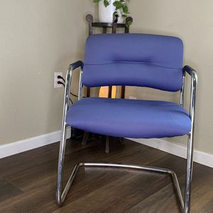 Vintage 80's SteelCase Chrome Cantilever Chair 🪑 FREE DELIVERY! for Sale in Portland, OR