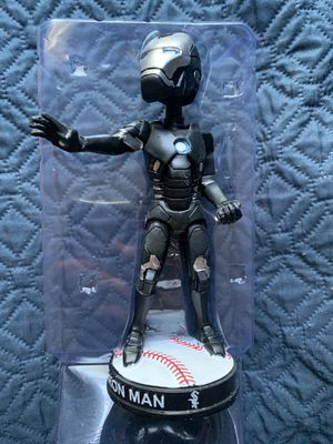 Iron Man Avengers Bobblehead Chicago White Sox Baseball for Sale in Garden Grove, CA