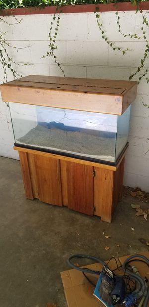 40 gallon aquarium complete for Sale in Riverside, CA