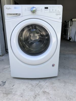 "27"" WHIRLPOOL FRONTLOAD WASHER for Sale in Lake Worth, FL"