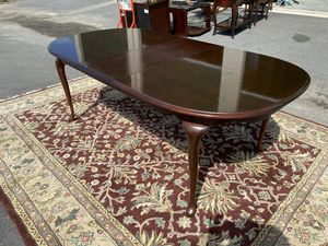 Queen Anne Dining Table by American Drew for Sale in Fuquay-Varina, NC