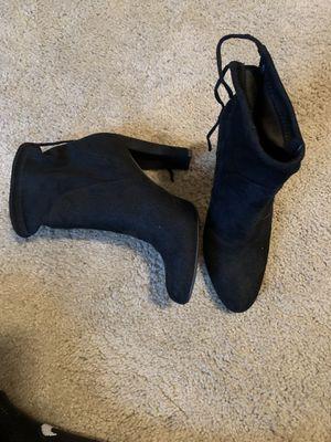 Size 7 high heel booties for Sale in Alexandria, VA