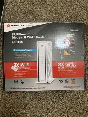 SURFboard Modem &Wifi Router for Sale in Tempe, AZ