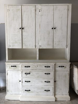 Antique Cabinet and Hutch for Sale in Austin, TX