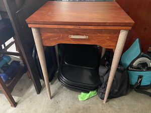 Vintage Sears Roebuck and Co antique refurbished sewing cabinet; or end table, matching other pieces in my other posts for Sale in San Diego, CA