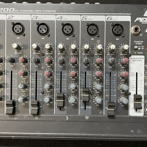 Peavey RQ 200 6 Chanel Mini Console for Sale in Danville, CA