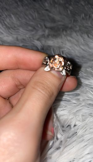 """Silver """"Rose"""" ring for Sale in Fayetteville, NC"""